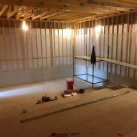 Cinema building works 14 December 18 cinema room compressed